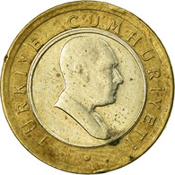 Monnaie, Turquie, 50 New Kurus, 2005, Istanbul, TB, Bi-Metallic, KM:1168 - Turquie