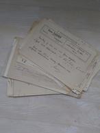 150 Bons De Commandes Principalement Pour Choucroute Franche-Comté, Paris + Factures Allemagne , Multiples 1919-25 - Alimentaire