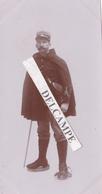 JURA  DOUANE 1902 - Superbe Photo Originale D'un Douanier Dans La Neige Par Le Photographe LAHEURTE - Lieux