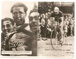5 Photos De Coureurs Cyclistes - Ciclismo