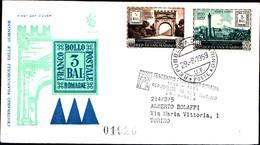 13255a)F.D.C.SAN Marino    Centenario Dei Francobolli Delle Romagne - 29 Agosto 1959 - FDC