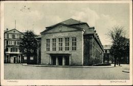Cp Hanau Im Main Kinzig Kreis Hessen, Straßenansicht Der Stadthalle - Alemania