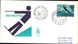 13256a)F.D.C.SAN Marino   Campionati Europei Di Sci Nautico - 6 Settembre 1979 - FDC