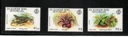SEYCHELLES Zil Eloigne Sesel  Neuf Sans Charnière N° 29 à 31   N**   Faune Locale - Seychelles (1976-...)