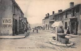 CPA MADRAGUE De Montredon - Rue Mont-Rose - Quartiers Sud, Mazargues, Bonneveine, Pointe Rouge, Calanques