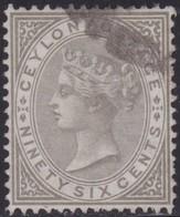 Ceylon    .   SG  .     132        .   O     .   Cancelled        .   /    .  Gebruikt - Ceylon (...-1947)