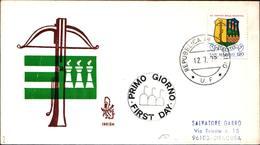 13261a)F.D.C.SAN Marino 14º Torneo Della Balestra - 12 Luglio 1979 - FDC