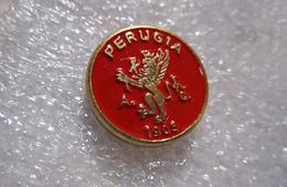 Grifone Perugia Umbria Distintivi FootBall Soccer Spilla Pins Italy Ufficiale Jacovacci Gioielli - Calcio