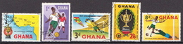 Ghana Used Set From 1959 - Africa Cup Of Nations