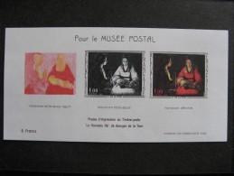 A). TB BF N° 1479b, Pour Le Musée Postal. - Blocks & Kleinbögen