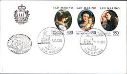 13262a)F.D.C.SAN Marino Natale - 5 Dicembre 1984 - FDC