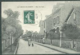 92 Hauts-de-Seine La Croix De Berny Rue Du Sud Animation TBE - Other Municipalities