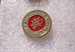 Grifone A.C. Perugia Umbria Distintivi FootBall Soccer Spilla Pins Italy Ufficiale Aima TO - Calcio