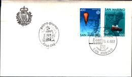 13263a)F.D.C.SAN Marino Europa - 20 Aprile 1983 - FDC