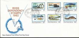 Neuseeland  Mi.Nr. 15-20    FDC   Leben In Der Antarktis. - FDC