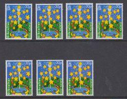 Europa Cept 2000 Gibraltar 30P Value 7x ** Mnh (44389) - Europa-CEPT