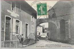 Breuvannes Arcade Séparant La Champagne Et La Lorraine Bureau De Poste - Andere Gemeenten