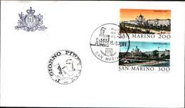 13265a)F.D.C.SAN Marino   Esposizione Filatelica Internazionale, A Vienna - 15 Maggio 1981 - FDC