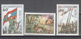 1978 Yvert Nº 323 / 325 MNH, Día Del Ejército - Laos