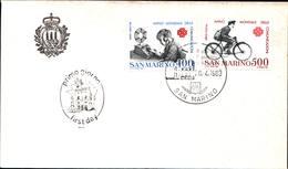 13264a)F.D.C.SAN Marino   Anno Mondiale Delle Comunicazioni - 20 Aprile 1983 - FDC