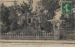 33 Arcachon-Moulleau 1913 RARE Villa Briseïs Un Coin De La Forêt  PAS VUE éditeur Vve Henry Guillier N°11081 Dos Scanné - Arcachon