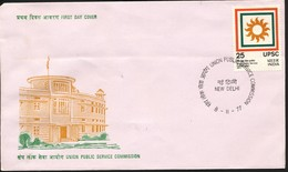 INDIEN -FDC   Mi.Nr. 738 + 744 - FDC