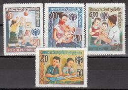 1979  Yvert Nº 335 / 338,  MNH, Día Internacional Del Niño - Laos