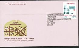 INDIEN -FDC   Mi.Nr. 744 +729 - FDC
