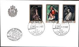 13267a)F.D.C.SAN Marino    Natale - 11 Dicembre 1980 - FDC