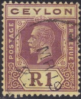 Ceylon    .   SG  .     354a        .       O     .   Cancelled        .   /    .  Gebruikt - Ceylon (...-1947)