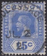 Ceylon    .   SG  .     348          .       O     .   Cancelled        .   /    .  Gebruikt - Ceylon (...-1947)
