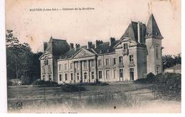 CPA MAUVES Chateau De La Droitiere - Mauves-sur-Loire