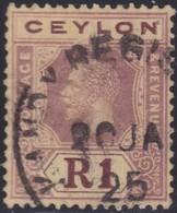 Ceylon    .   SG  .     354         .       O     .   Cancelled        .   /    .  Gebruikt - Ceylon (...-1947)