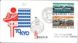 13269a)F.D.C.SAN Marino      Tokyo - 19 Settembre 1975 - FDC