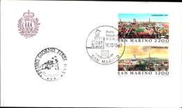 13274a)F.D.C.SAN Marino    Esposizione Filatelica Internazionale, A Copenaghen - 16 Ottobre 1987 - FDC