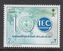 2008  Saudi Arabia  Electrotechnical Commission IEC Complete Set Of 1 MNH - Arabia Saudita