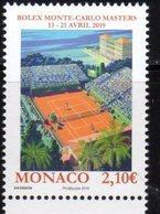 MONACO, 2019, MNH, TENNIS, ROLEX ROLAND GAROS MASTERS,1v - Tennis