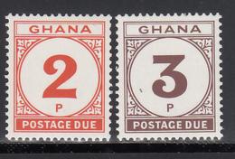 1980 Yvert Nº 24 / 25 MNH,  Tasas, - Ghana (1957-...)