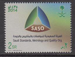 2014  Saudi Arabia  SASO Metrology Complete Set Of 1 MNH - Saudi Arabia