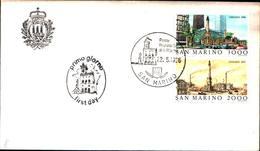 13279a)F.D.C.SAN Marino    Esposizione Filatelica Internazionale, A Chicago - 22 Maggio 1986 - FDC