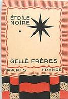 PARFUM - GELLE FRERES - ETOILE NOIRE - CARTE PARFUMEE - Cartes Parfumées