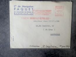 Lettre De Nomination Au Grade De 2 Eme Capitaine De La Compagnie Paquet  Jean Espitalier Capitaine Au Long Cours - Documents Historiques