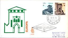 13280a)F.D.C.SAN Marino  Europa - 30 Maggio 1978 - FDC