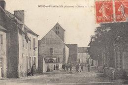 53 /  Cossé En Champagne      ///  REF  AOUT. 19  //   BO.53 - France