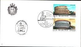 13282a)F.D.C.SAN Marino  Esposizione Filatelica Internazionale, A Roma - 25 Ottobre 1985 - FDC