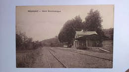 Carte Postale ( Y4 ) Ancienne De Bézenet , La Gare - Autres Communes