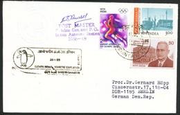 Schiffpost - Indien  Antarktis  Dakshin Gangotri - Briefmarken