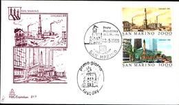 13281a)F.D.C.SAN Marino Esposizione Filatelica Internazionale, A Chicago - 22 Maggio 1986 - FDC