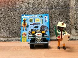Playmobil N° 4176 - Explorateur En Quad - Other Collections