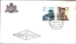 13284a)F.D.C.SAN Marino   Europa - 30 Maggio 1978 - FDC